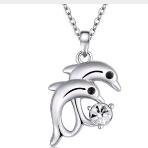 Jewelry - GORGEOUS DOLPHIN NECKLACE NEW